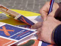 Unterschriftensammlung: Volksabstimmung über die EU-Verfassung