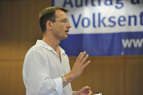 Roman Huber Mehr Demokratie Jahrestagung 2009 Medien Macht Demokratie Volkentscheid