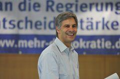 Gerald Häfner Mehr Demokratie Jahrestagung 2009 Volksentscheid Demokratie Macht Medien